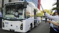 Selama 3 Bulan Bus Listrik Transjakarta Diuji Coba