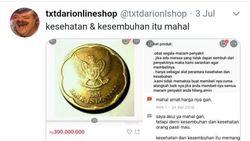 Balada Koin Rp 500 Dijual Rp 300 Juta via Online