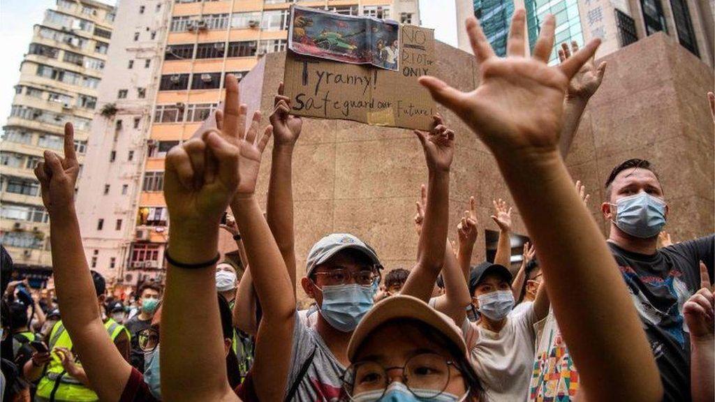 Buku-buku Pro Demokrasi Ditarik dari Perpustakaan Hong Kong