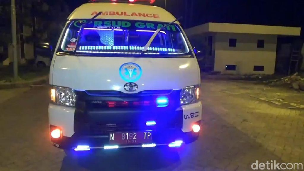 Meski Sudah Tampil Kece, Ambulans Disko Tetap Antar Jemput Pasien
