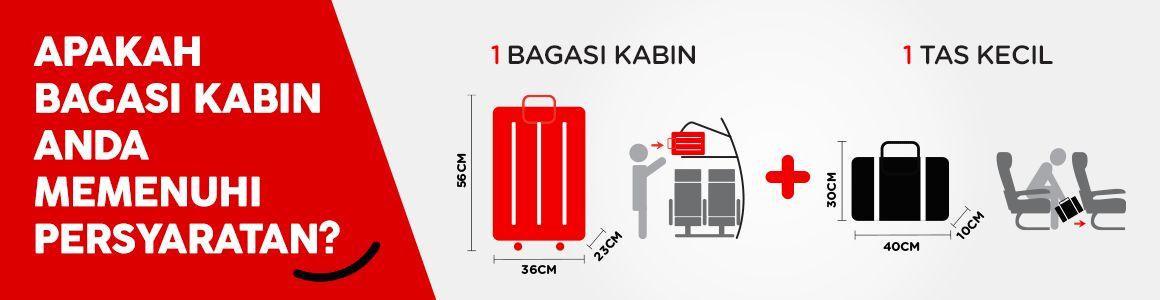 Aturan bagasi kabin AirAsia