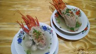 Antre Bakso Lobster Viral dan Makanan Untuk Memperbesar Mr. P