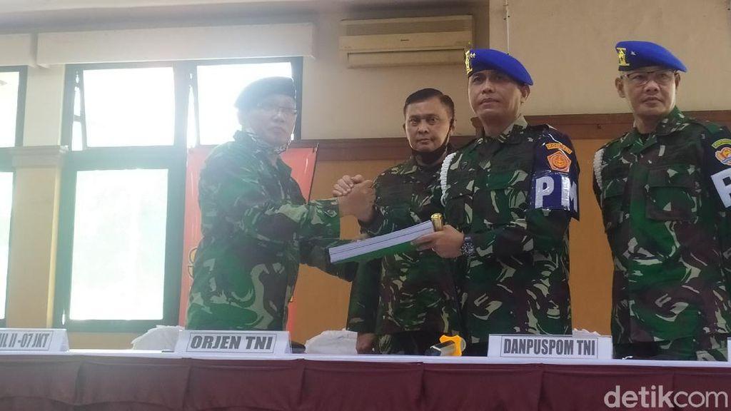 Berkas Penusuk Serda Saputra Masuk di PT Militer, Letda RW Segera Disidang