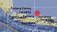 Gempa M 6,1 Terjadi di Jepara Jawa Tengah