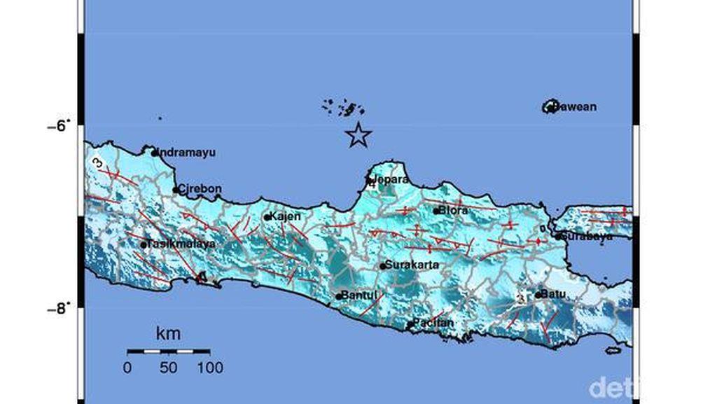 Gempa Jepara Terasa Kuat di Pacitan, BPBD Sebut Belum Ada Dampak