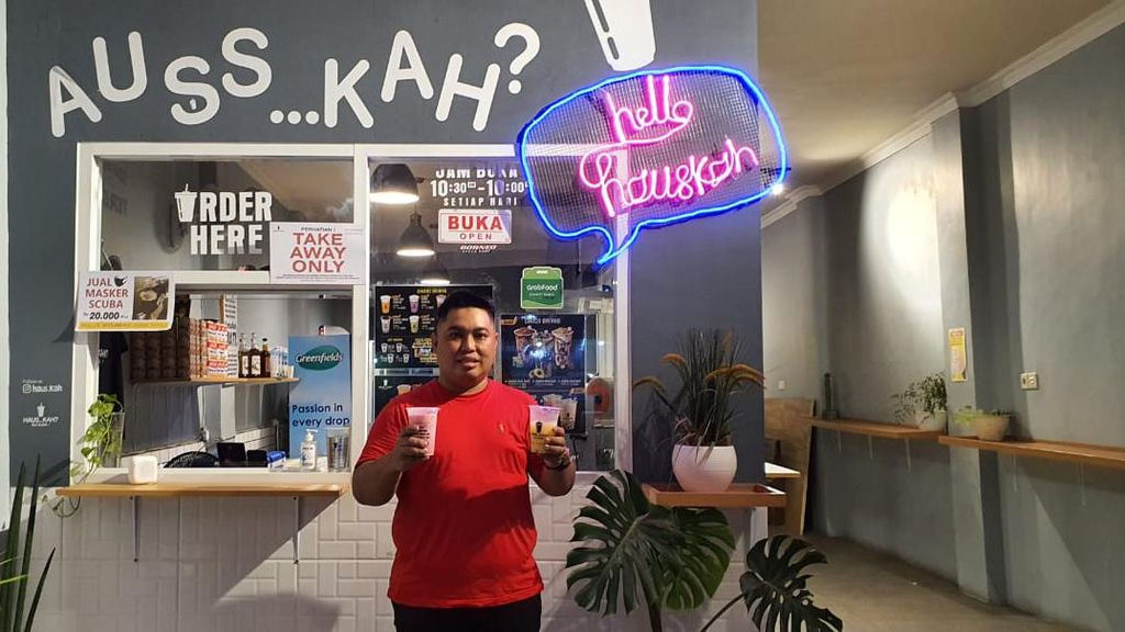 Gabung GrabFood, Penjualan Kedai Auss Kah di Balikpapan Naik 110%