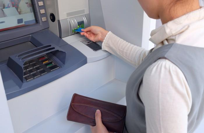 Ilustrasi ATM