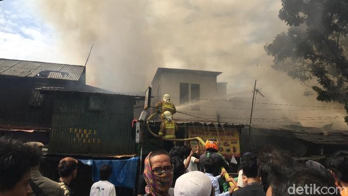 Kebakaran di Manggarai Jaksel