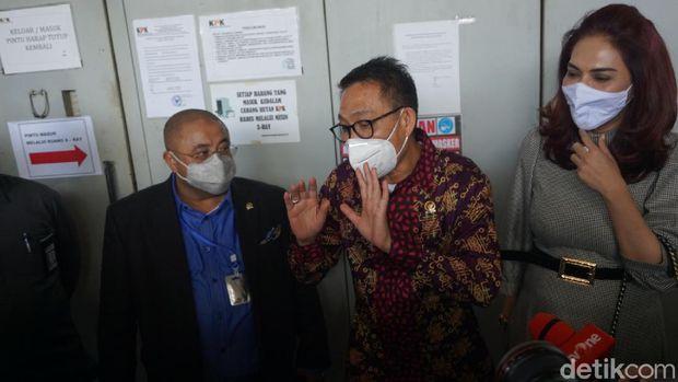 Komisi III DPR tinjau Rutan KPK (Ibnu Hariyanto/detikcom)