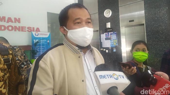 Koordinator Masyarakat Anti Korupsi Indonesia (MAKI) Boyamin Saiman.