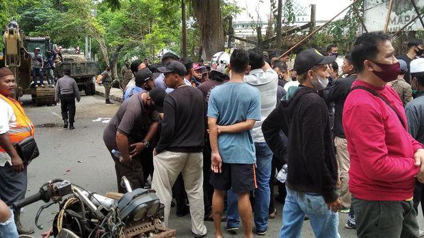 Lokasi penolakan pembongkaran rumah di SKM Samarinda