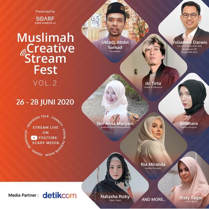 Muslimah Creative Stream Fest 2020