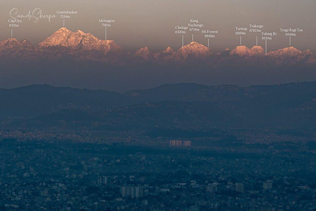 Pegunungan Himalaya.