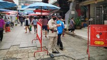Suasana New Normal Pasar Tradisional Khon Kaen Thailand