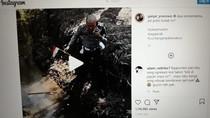Disebut Botak, Ini Kata Polisi yang Viral Ambil Bendera Merah Putih di Selokan