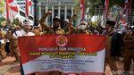 Ratusan Kepala Desa Geruduk MK untuk Kawal Uji Materi UU Corona