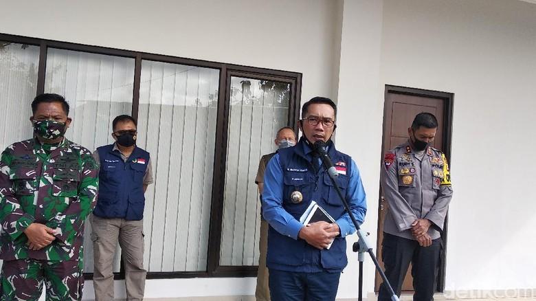 Ridwan Kamil di Mapolda Jabar