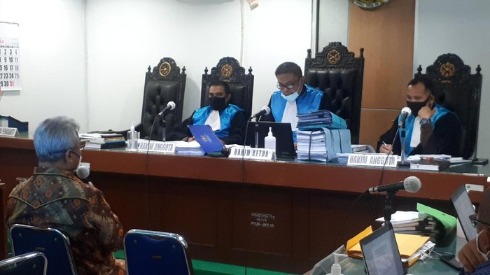 Sidang kasus Evi Novida Ginting di PTUN, Jakarta, Selasa (7/7/2020).