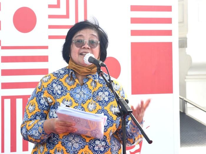 Menteri LHK Siti Nurbaya Bakar