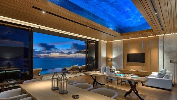 Resort mewah di Seychelles