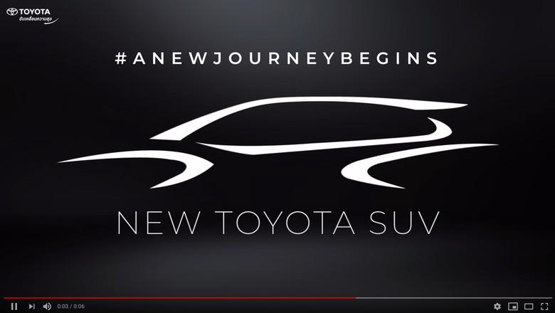 Teaser Toyota Corolla Cross