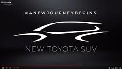 Toyota Luncurkan SUV Baru, Corolla Cross?