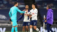Video Perkelahian Lloris dan Son di Laga Tottenham vs Everton