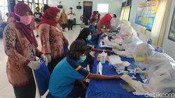 Sejumlah ASN Dinsos Provinsi Reaktif, Ratusan Warga Binaan Rapid Test