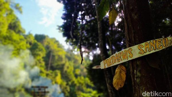 Spot wisata ini dikelola oleh Pokdarwis Desa Saneo. Lokasinya memang berada di Desa Saneo, Kecamatan Woja, Kabupaten Dompu. (Faruk Nickyrawi/detikcom)