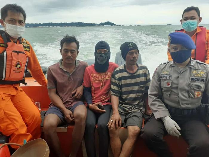 3 nelayan asal Penajam, Kaltim, yang hilang di Selat Makassar ditemukan (dok. Istimewa)