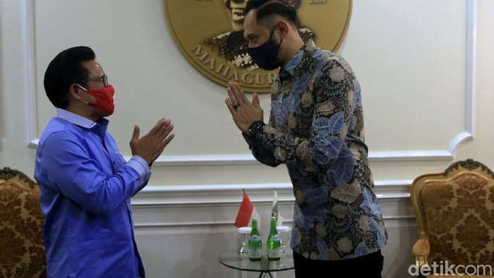 Ketum Partai Demokrat, Agus Harimurti Yudhoyono, bertemu dengan Ketum PKB Muhaimin Iskandar di Kantor DPP PKB. Apa yang dibahas dalam pertemuan tersebut?