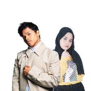 Aizat Amdan dan Hanin Dhiya