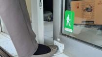 Peneliti UGM Kembangkan Pembuka Pintu Pakai Kaki untuk Cegah Corona