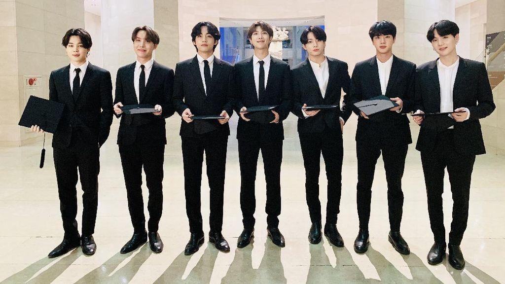 Para Member BTS Lanjut S2, Ini yang Dipelajari Mereka di Jurusan Kuliahnya