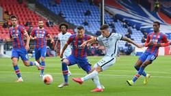 Chelsea Unggul 2-1 atas Crystal Palace di Babak I