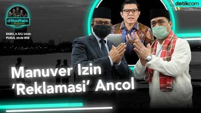 Manuver Izin Reklamasi Ancol