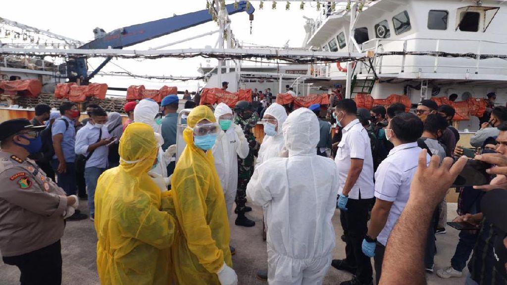 Polda Kepri Evakuasi ABK WNI yang Tewas di Kapal Berbendera China