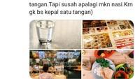 Gadis Jepang Ini Curhat Uniknya Budaya Makan di Indonesia
