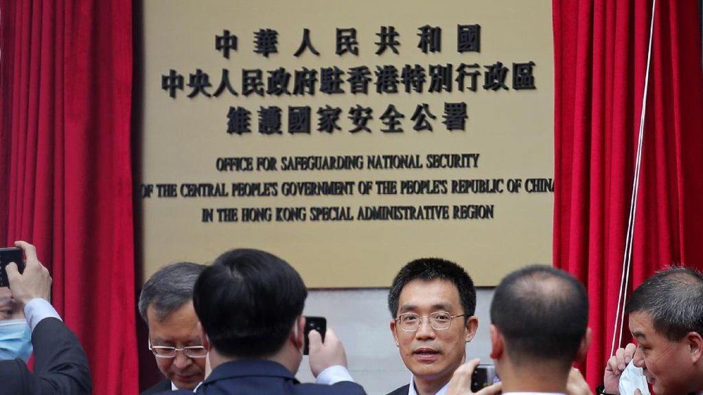 China Buka Markas Badan Keamanan Baru di Hong Kong
