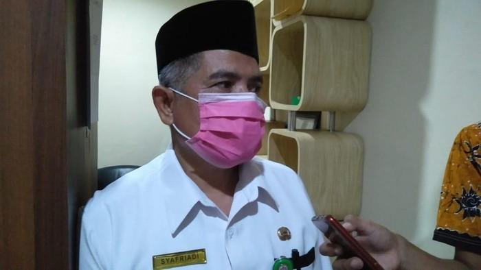 Ketua Ikatan Dokter Indonesia Provinsi Bengkulu Syafriadi (Hery-detikcom)