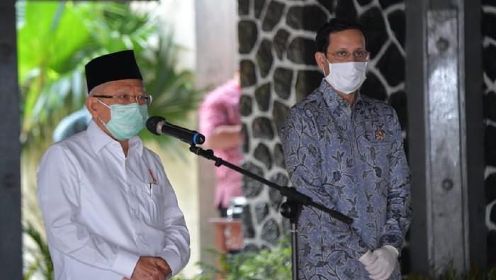 Kunker Wapres Maruf ke SMAN 4 Sukabumi