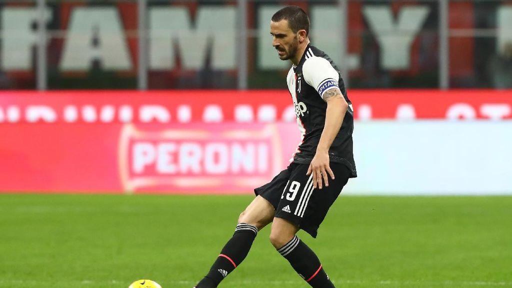Juventus Gagal Menang Lagi, Bonucci: Asal Jaga Jarak dengan Pesaing