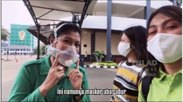 masker unik istri KSAD