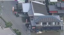 Melihat dari Udara Banjir di Jepang yang Menelan Korban