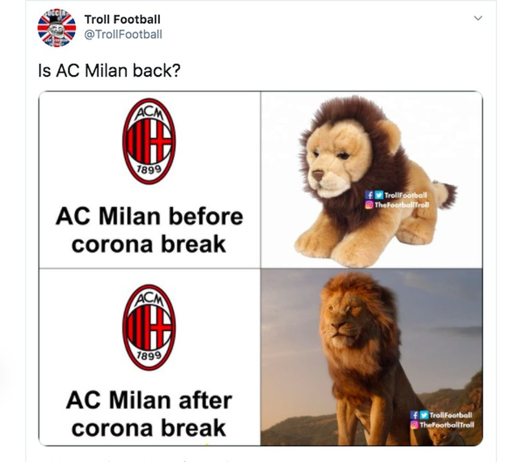 Meme Juventus Milan