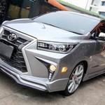 Modifikasi Toyota Innova Berwajah Lexus