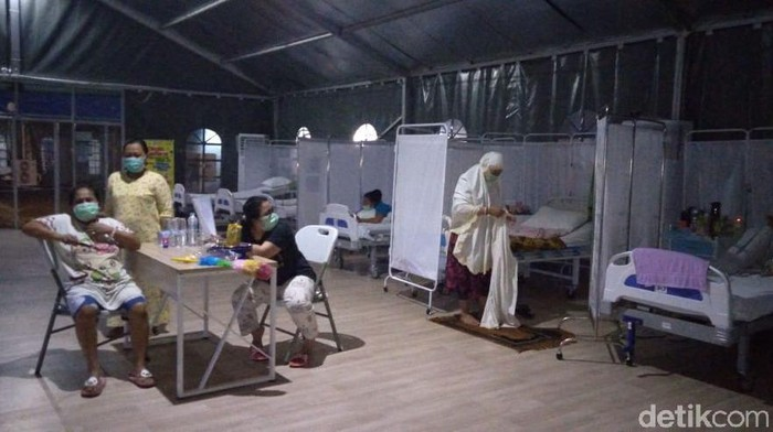 Pasien Corona RS Darurat di Jalan Indrapura