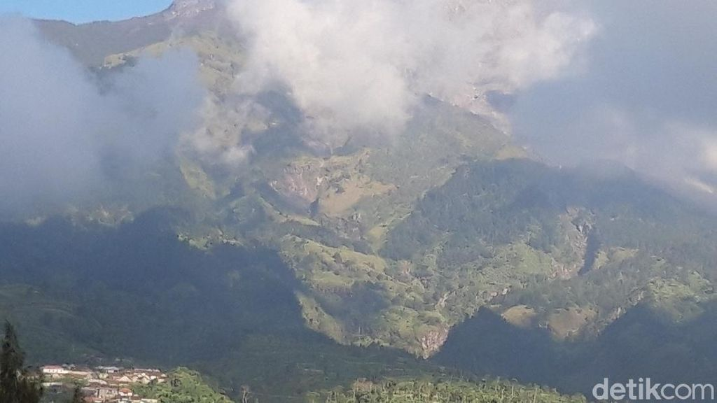 Waspada, Gunung Merapi Menggembung