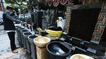 Perajin Instalasi Taman, Banting Setir Jual Tempat Cuci Tangan