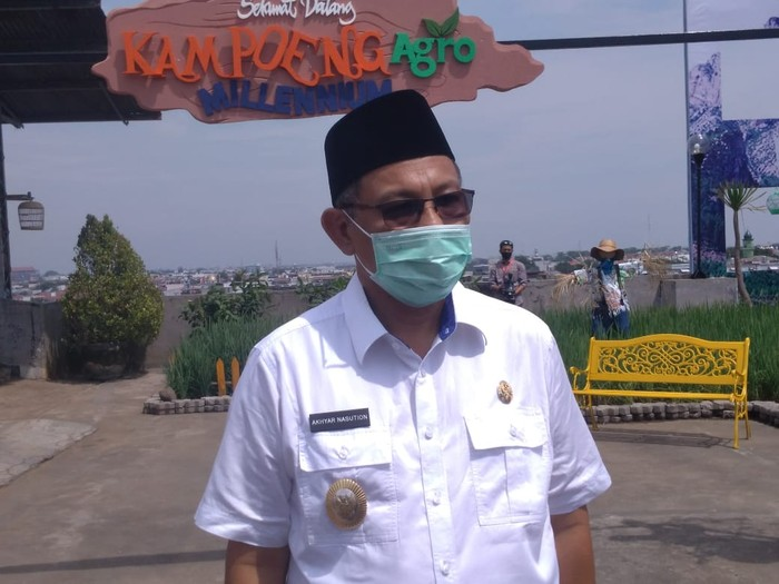 Plt Wali Kota Medan Akhyar Nasution (Datuk Haris Molana-detikcom)